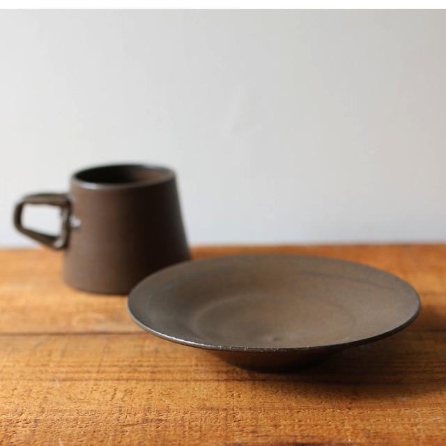 鉄釉皿 // キムラヤ