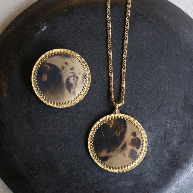COAS  Brass Necklace&Brooch