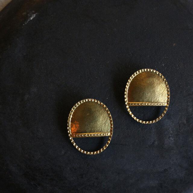 COAS  Brass Earring