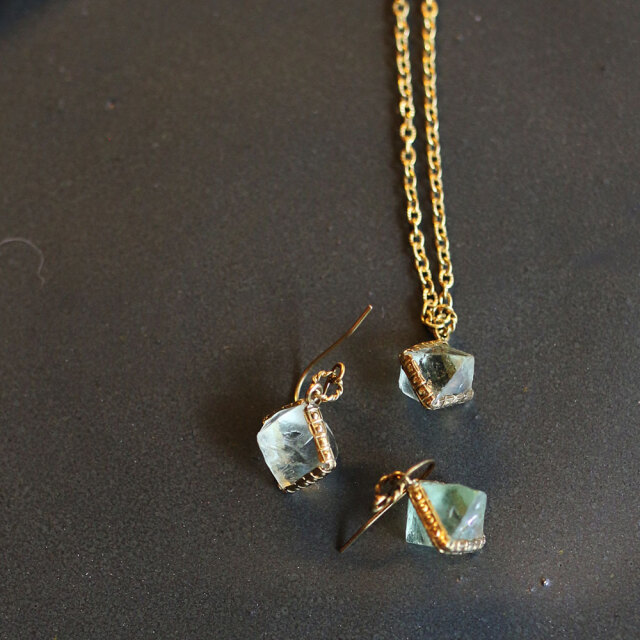 COAS  Brass Necklace&Pierce