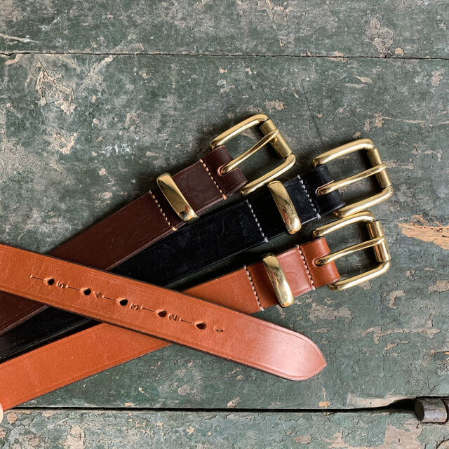 1.25 inch Bridle Leather Belt