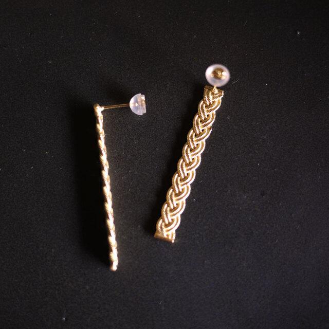 Yohei Noguchi 18K Gold Pierced Earrings 《RG003》