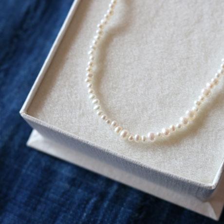 Toile Bijoux  10K+Pearl Necklace