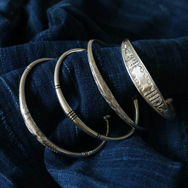 TUAREG JEWLRY  Thin Bangle
