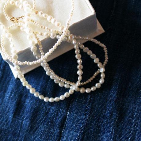 Toile Bijoux  10K+Pearl Long Necklace
