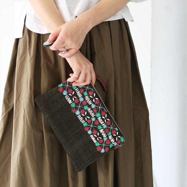 Mini Clutch Bag / Tribal