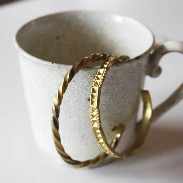 COAS  Brass Bangle