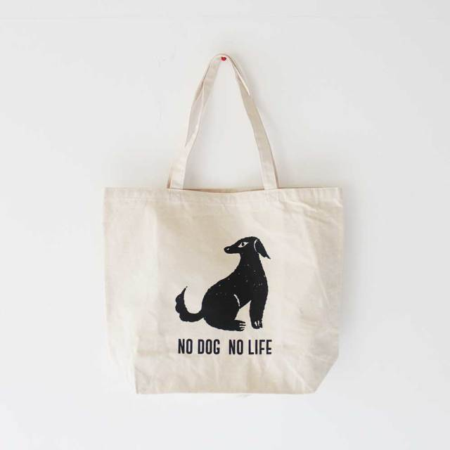 Eco Bag 《 NO DOG NO LIFE 》