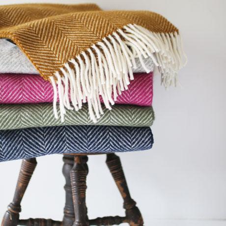 Wool Blanket Stole