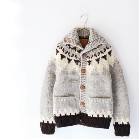 CANADIAN SWEATER Cowchan Knit C/D