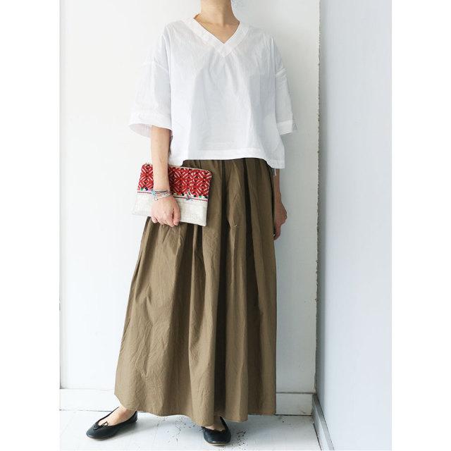 Gather Long Skirt