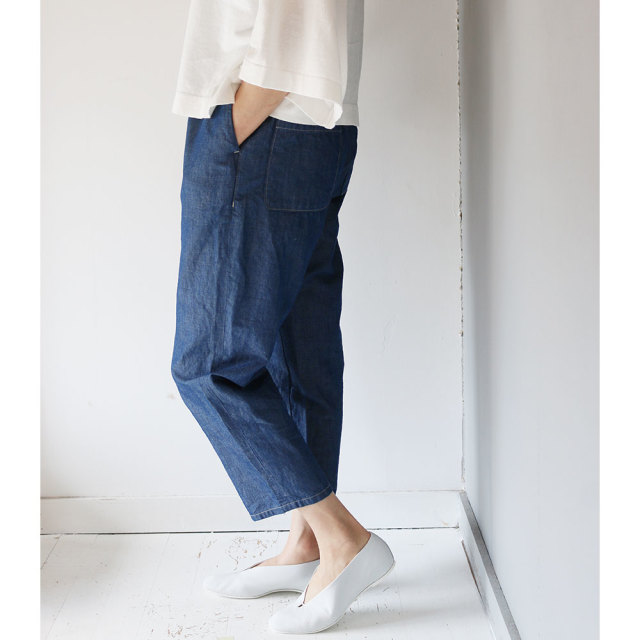 Cotton Linen Chambray Pants
