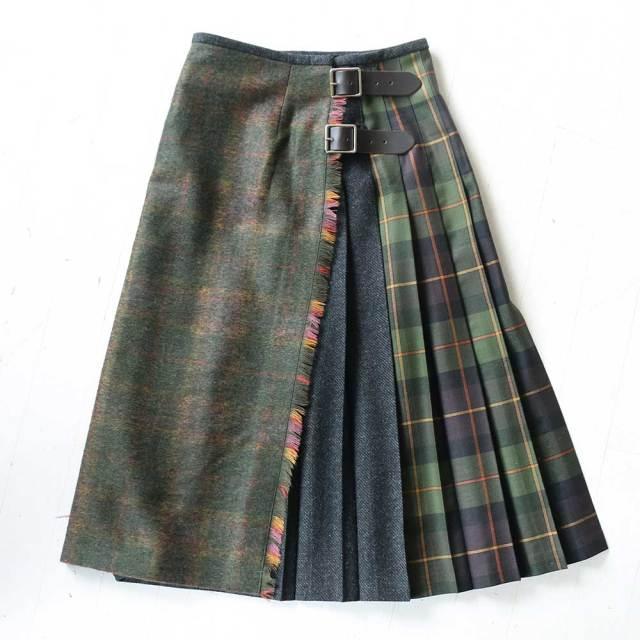 O'NEIL of DUBLIN 別注カラー Wrap Skirt