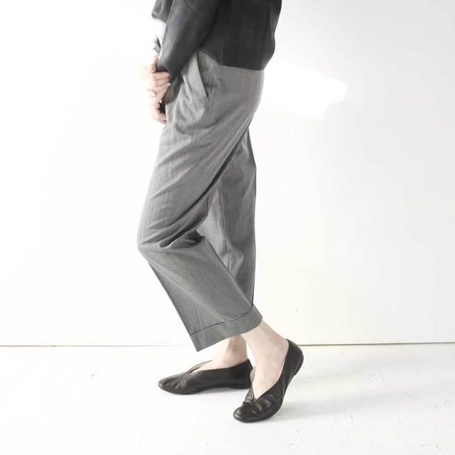 Tuck Pants  〈 Brett 〉 (Unisex)