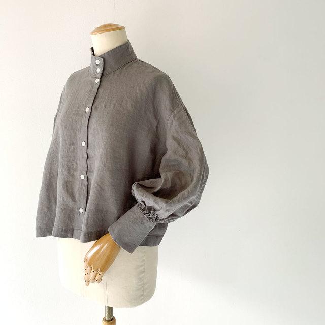 Linen Okkake Shirts