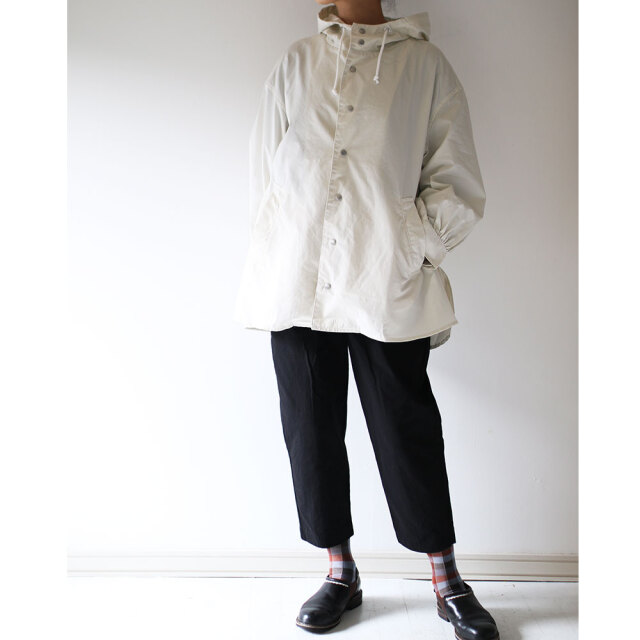 Poncho Hooded Blouson