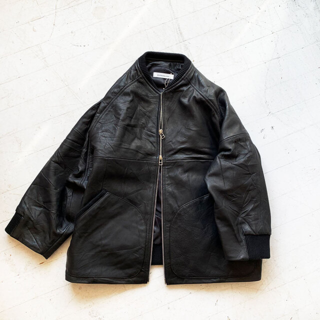 Leather Blouson