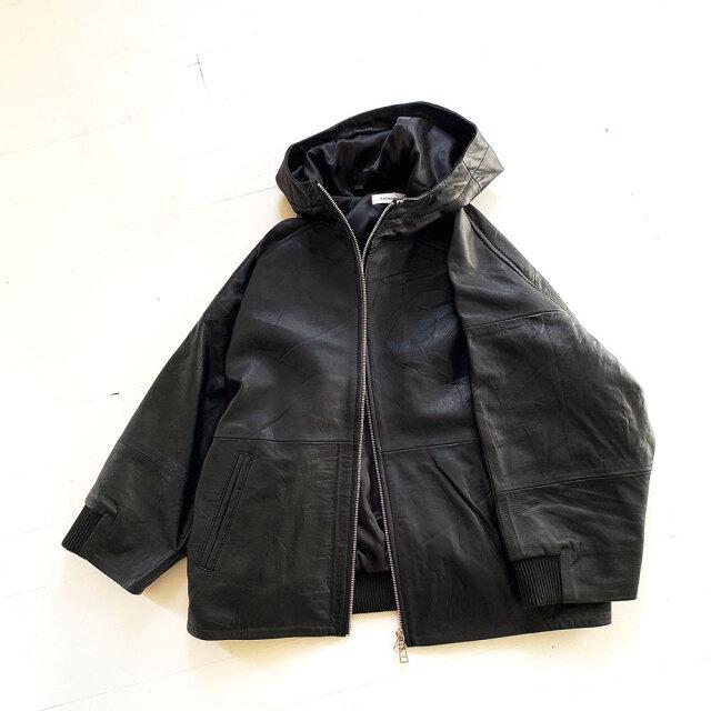 Sustainable Series Leather Blouson