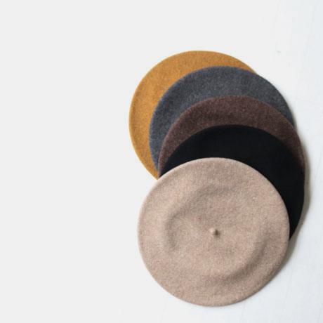 Simple Wool Beret