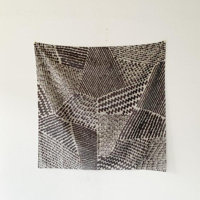 Block Print Scarf  //  向井 詩織