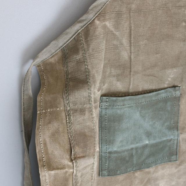 Vintage Tent Fabric Apron