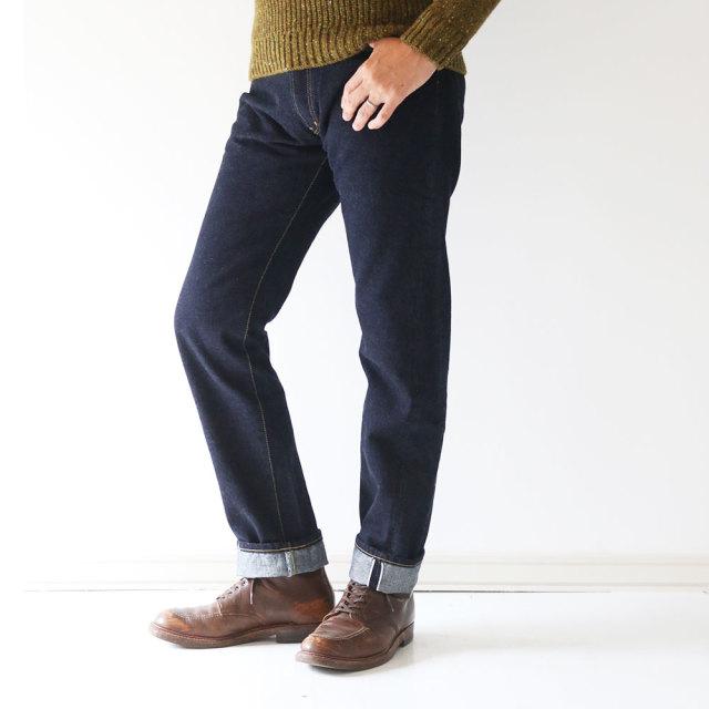 "FUJITO ""Thea"" Tapered Straight Jeans(Unisex)"