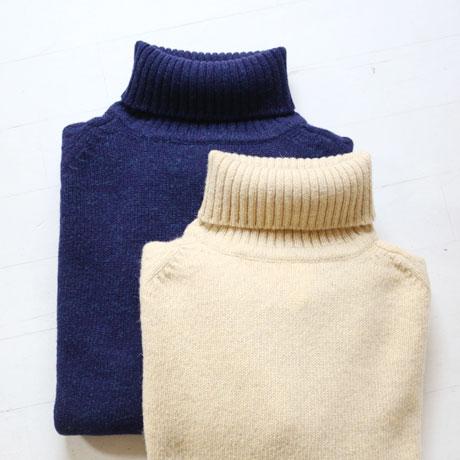 Shetland Turtle Neck Sweater (Unisex)