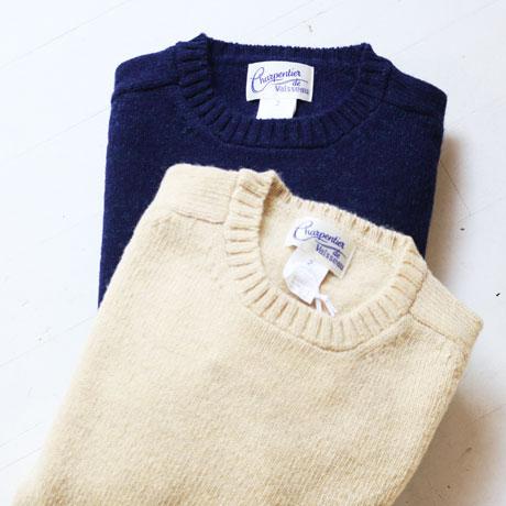 Shetland Crew Neck Sweater (Unisex)