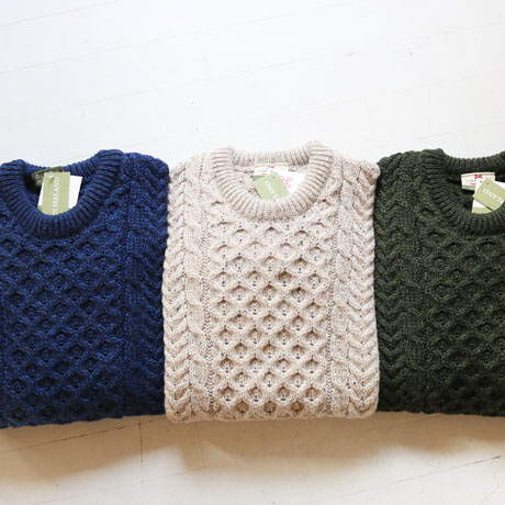 Traiditional Aran Sweater  (Unisex)
