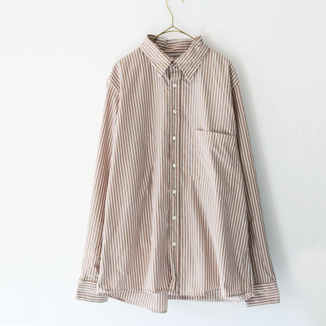 European Cotton Stripe Retro Shirt (Mens)
