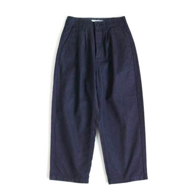Wide Tuck Trousers (Mens)