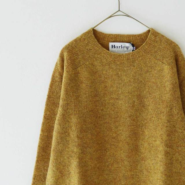Harley Of Scotland  Shetland C-Neckc Knit (size 38.40.42)