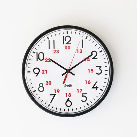 """Franklin  12""""Wall Clock"""