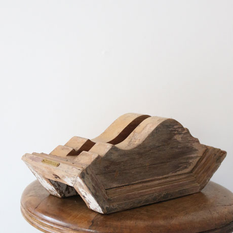 Vintage Wooden PC Stand