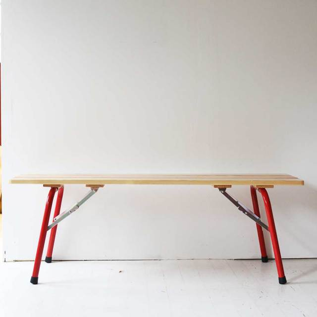 CASTELMERLINO  Folding Wood Bench