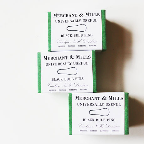 MERCHANT & MILLS Black Bulb Pins