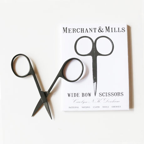 MERCHANT & MILLS Wide Bou Black Scissors