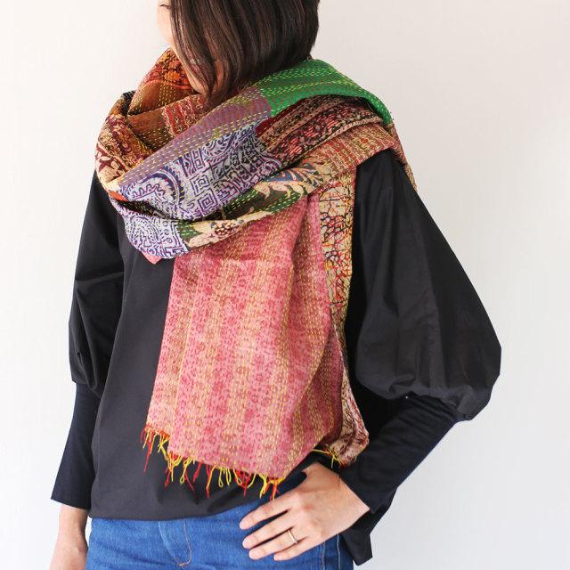 Kantha  Silk Stole