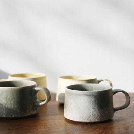 型染めコーヒーカップ // 徳山久見子