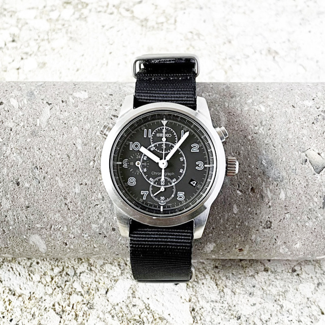 "SEIKO ""SUS"" Chronograph Quartz 1996's"