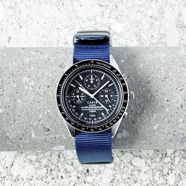 "SEIKO/ALBA ""CARIB"" Alarm-Chronograph Quartz 1992's"