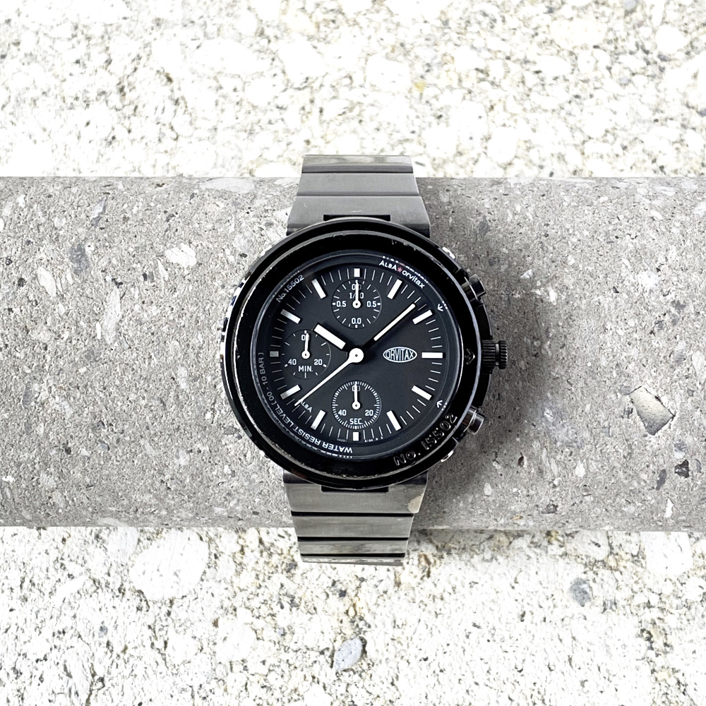 "SEIKO/ALBA ""ORVITAX""Chronograph Quartz 1999's"