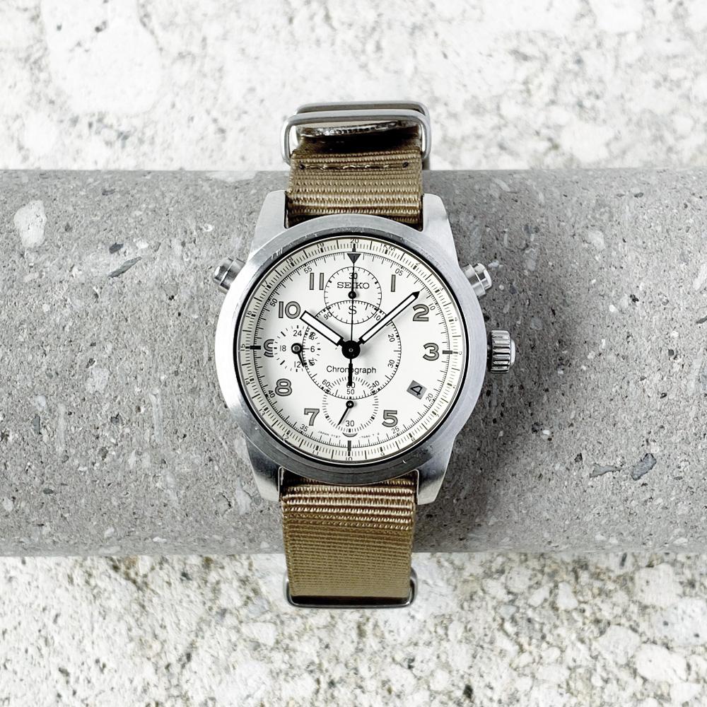 "SEIKO ""SUS"" Chronograph Quartz 1995's"
