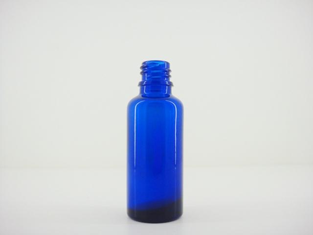 コバルトブルー遮光瓶 30ml アロマテラピー