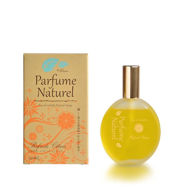 エコリュクス パルファム ナチュレ オードトワレ [リフレッシュシトラス] 50ml -精油生まれのシンプル香水-