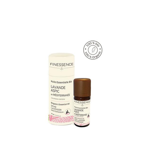 スパイクラベンダー (Lavandula latifolia) 10ml スペイン産 アロマテラピー エッセンシャルオイル 精油 FINESSENCE フィネッサンス