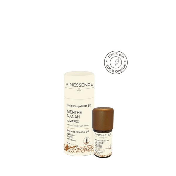 ナナミント/スペアミント (Mentha viridis) モロッコ産 エッセンシャルオイル 精油 FINESSENCE