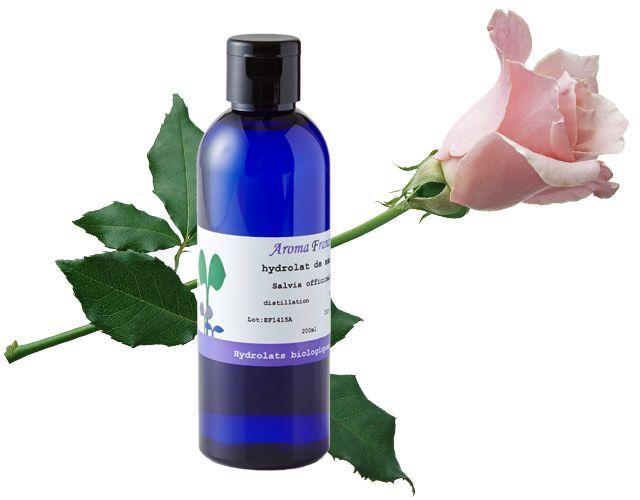 アロマフランスのハイドロゾル(化粧水認可 芳香蒸留水)ダマスクローズウォーター