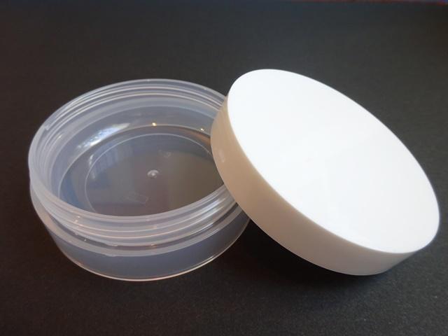 クリーム・軟膏・小分け容器 クリア/ホワイト 30ml