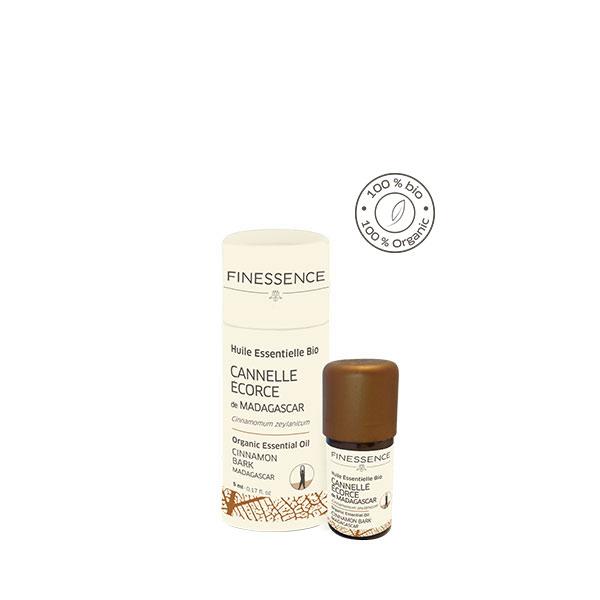 シナモン樹皮 (Cinnamomum zeylanicum) 5ml マダガスカル産 アロマテラピー エッセンシャルオイル 精油 FINESSENCE フィネッサンス